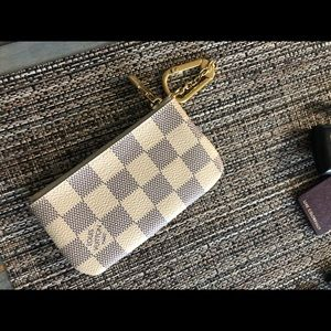 Authentic Louis Vuitton Damien Azur Key Cles